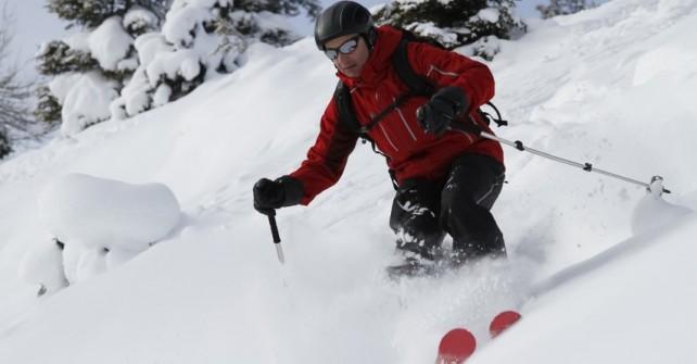 Off Piste Ski Lessons in Megeve
